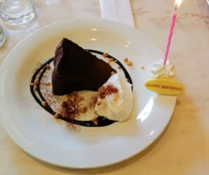 センターコーヒーストリートハウスで誕生日をお祝い