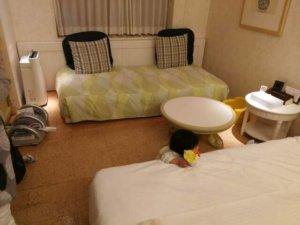 オリエンタルホテル東京ベイべビーズスイート部屋の様子