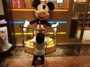 オリエンタルホテル東京ベイの中にディズニーファンタジーがある!