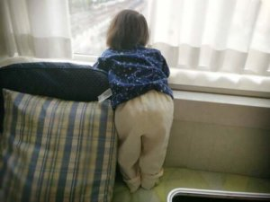 オリエンタルホテル東京ベイの子ども用パジャマは小さめ