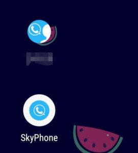 スカイフォンは簡単で使いやすい